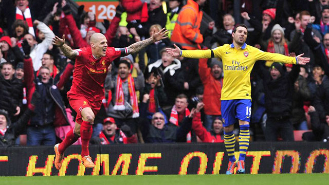 Liverpool v Arsenal Reds smash Gunners at Anfield